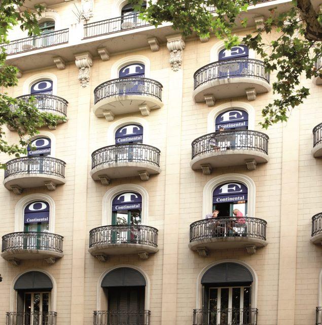 HOTEL CONTINENTAL<br/>BARCELONA (ESPAÑA)