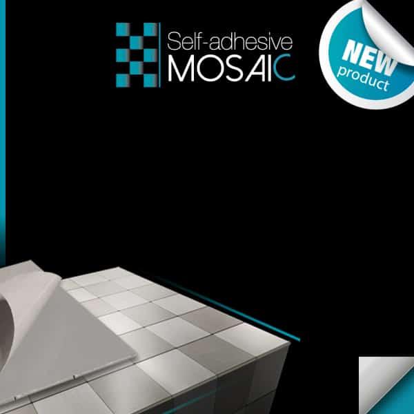 Mosaico autoadhesivo